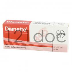 Dianette for Acne 2mg/35mcg x 126